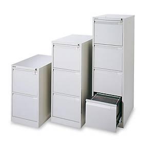 Cajón archivador Bisley Premium - 3 cajones - 470 x 1016 mm - gris
