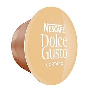 Caffè espresso Cortado Nescafé Dolce Gusto in capsule - conf. 16