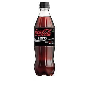 Coca-Cola Zero 0,5L, 1 kpl=24 pulloa