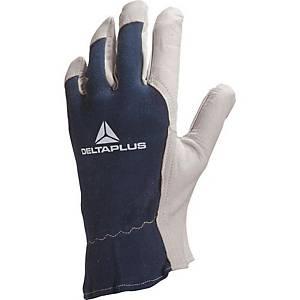 Kožené rukavice Deltaplus CT402, veľkosť 10, 12 párov
