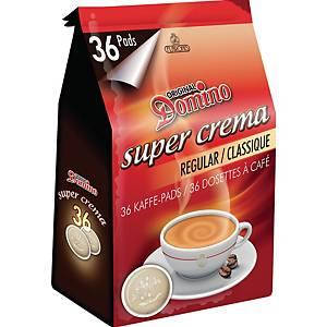 Dosettes café classique Domino, le paquet de 36 dosettes