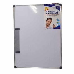 Writebest Non-Magnetic Whiteboard 45cm x 60cm