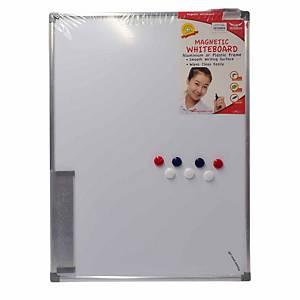 Writebest Magnetic Whiteboard 45cm X 60cm