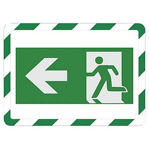 Tarifold öntapadó tábla A4 zöld/fehér, 2 darab/csomag