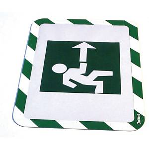TARIFOLD FRAME MAGNETO ADHESIVE BACK A4 GREEN/WHITE PACK OF 2