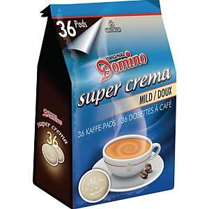 Domino Mild koffiepads, pak van 36 pads
