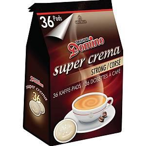 Domino Strong koffiepads, pak van 36 pads