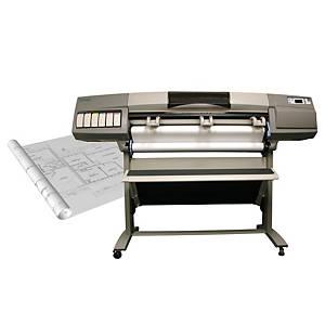 Rotolo carta plotter standard bianca Lyreco 90 g/mq 91,4 cm x 91 m