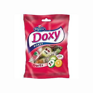 Ovocné cukríky Doxy Roxy fruits, 90 g