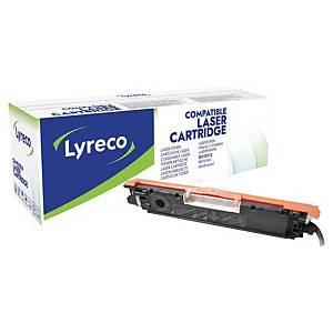 Lasertoner Lyreco HP CE310A kompatibel, 1.200 sider, sort