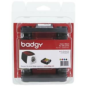BADGY100 ผ้าหมึกพิมพ์ รุ่น CBGR0100C 1 ม้วน