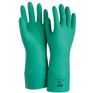 ANSELL EDMONT 37-175 13 INCHES GLOVES NITRILE PAIR 10