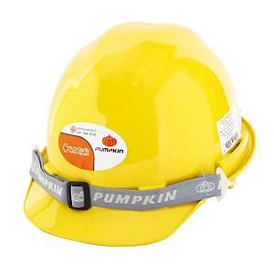 PUMPKIN หมวกนิรภัย ปรับหมุน เหลือง