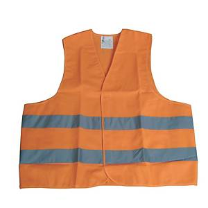 Sikkerhedsvest Viso, orange, str. XL