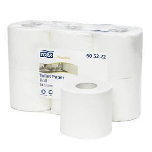Pack de 6 rollos de papel higiénico Tork Premium - 2 capas - 38 m