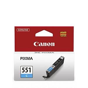 Cart. D Encre Canon Cli-551C Pour Pixma Ip7950, Cyan