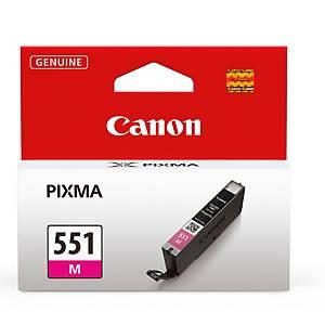 Tintenpatrone Canon 6510B001 - CLI-551M, Reichweite: 304 Seiten, magenta