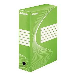Pudełko archiwizacyjne Esselte Boxy A4 100 mm zielone