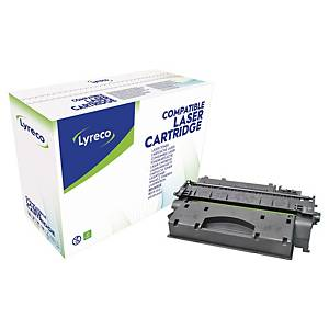Lyreco Compatible 80X HP High Yield Laserjet Toner Cartridge CF280X - Black