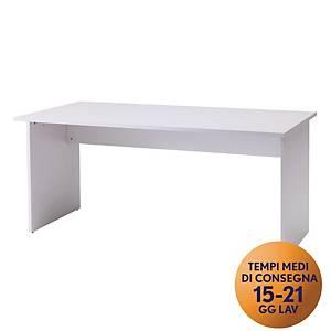 Scrivania TDM EN1 in melaminico 160 x 80 x 74 cm  grigio