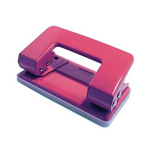 Suremark 2-Hole Pink Mini Punch - 10 Sheets Capacity