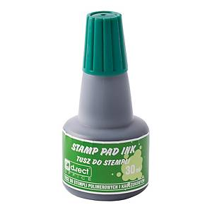 D.RECT 105305 STAMP PAD INK 30ML GREEN