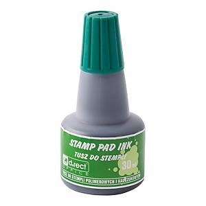 Tusz bezolejowy D.RECT 105305, zielony, 30 ml*