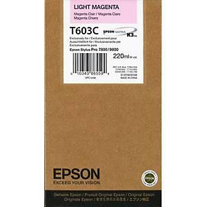 Epson T603C Ink Cartridge Light Magenta