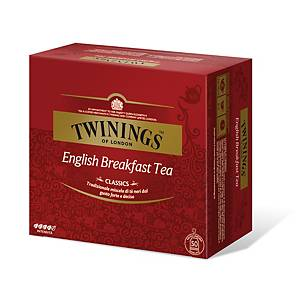 Tè English Breakfast Twinings in bustina - conf.50