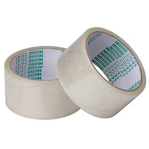 Nissho Opp Clear Packing Tape 48MM X 80m - Pack of 6