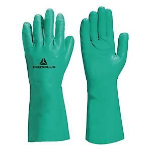 Guanti protezione chimica Deltaplus Nitrex VE802 tg 9/10