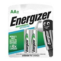 Energizer Extreme Rechargeable Batteries AA - Pack of 2