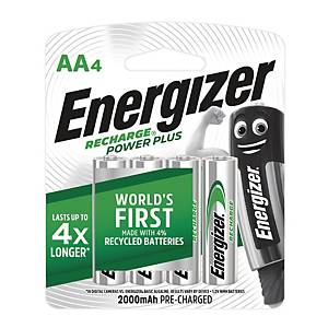 Energizer Universal Rechargeable Batteries AA - Pack of 4