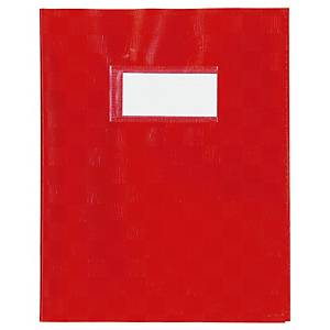 Protège cahier A4 120 gr rouge