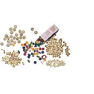 Perles de bois 16 mm - le paquet de 100