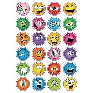 etiquettes de récompense smileys - 10 paquets de 2 feuilles