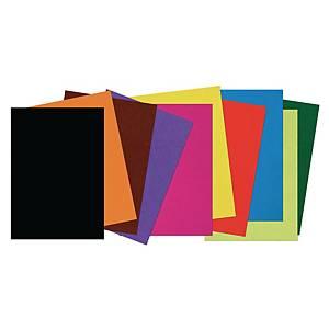 Papier à dessin 25 x 35 cm couleurs assorties - le paquet de 500