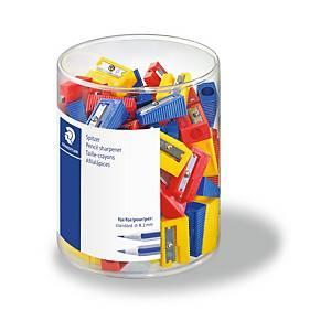 Taille-crayon plastic 1 trou - la boîte de 100