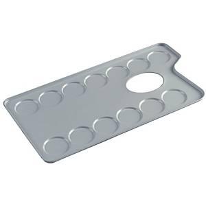 Talens mélangeur en métale rectangulaire avec 13 compartiments