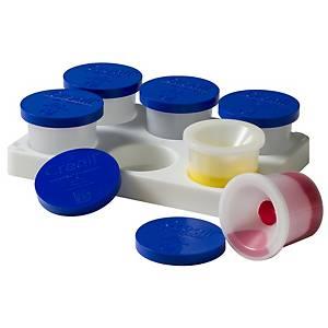 Creall support pour 6 godets anti-tâche de 125 ml