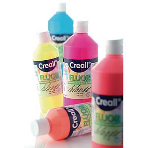 Creall peinture fluorescente 500 ml jaune