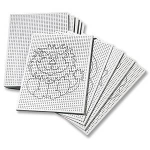 Folia carte à couture 8 motives assortis - le paquet de 50