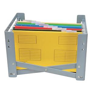 Bantex A4 And FC Suspension Filing Tray Grey