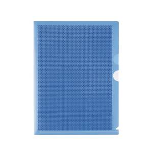 Plus Camouflage Folder With Hard Cover Blue