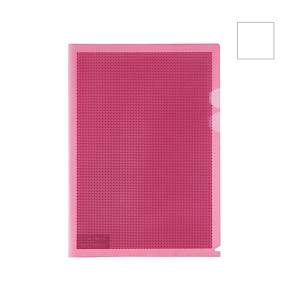Plus Camouflage Folder With Hard Cover Clear