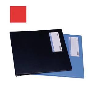 EMI-File PVC A4 Computer File Red