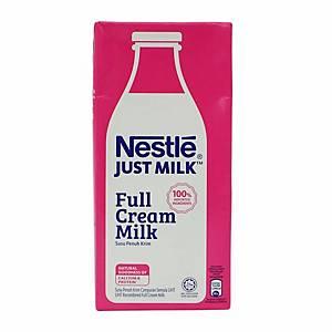 Nestle Full Cream Milk 1000ml - Pack of 12