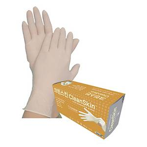 PK50 KLEENSKIN LATEX GLOVES M