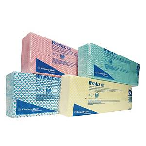 Kimberly-Clark Wypall Blue Wipes - Pack of 25