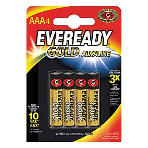 PK4 PILAS EVEREADY GOLD AAA/LR03